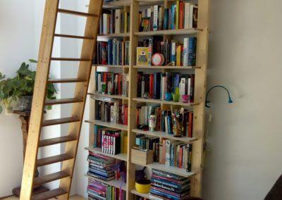 Demontabele boekenkast