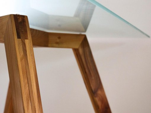 Design houten tafel op maat